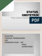 Pemeriksaan Obstetrik Induksi
