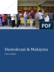 Demokrasi Dan Malaysia