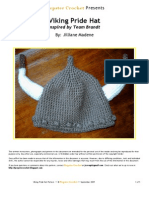 Viking Pride Hat Pattern