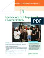Foundations of Interpersonal Communication