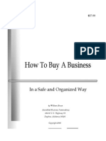 How to Buy a Business by William Bruce.pdf