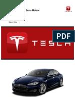 Marketing Plan - Tesla Motors
