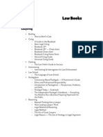 Law; Law Books List