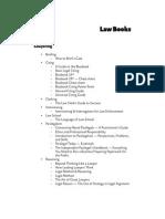 Law; Law Books List
