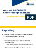 modesofentryintoforeignmarkets-