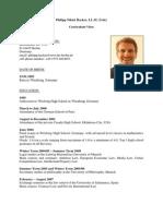 CV Philipp Hacker