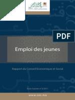 Rapport Du Conseil Economique Et Social-Emploi Des Jeune Maroc S-Vr Fr