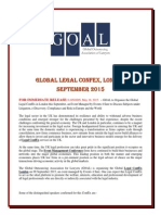 Global Legal Confex, London, September 2015
