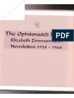 The Opinionated Knitter by E. Zimmerman