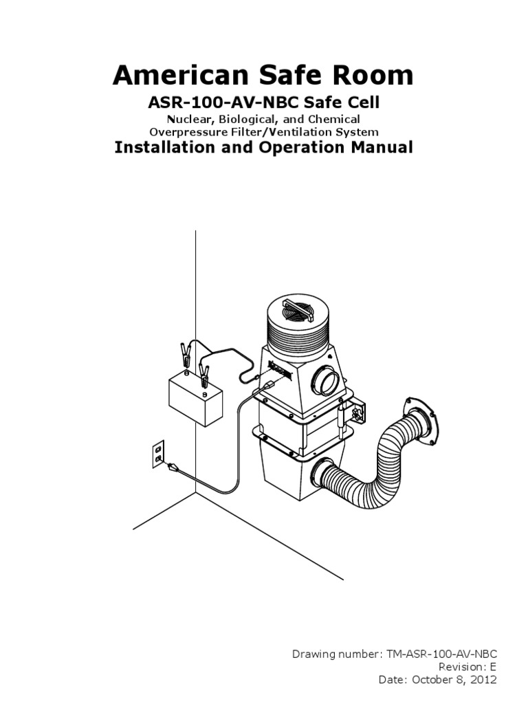 tm 100 av nbc filtration system | ventilation (architecture