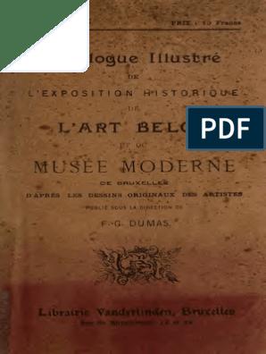 DUMAS, F. G. Catalogue Illustré de l'Exposition Historique