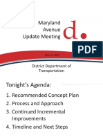 Minutes from the May 12, 2015 DDOT Meeting