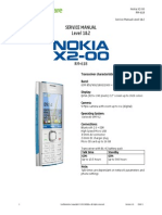 Nokia X2-00 RM-618 Service Manual L1L2 v1.0