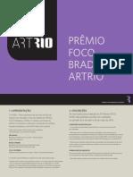 Artrio Premio Foco 2015 Edital