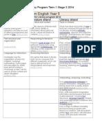australian curriculum content descriptions stage 3