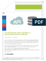 5 Frameworks Para Facilitar o Desenvolvimento Android