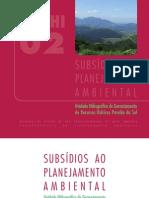 Subsidios Ao Planejamento Ambiental UGRHI-021