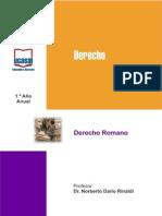 Modulo Derecho Romano Ucasal