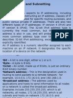 Sust-IP Addressing Subnetting
