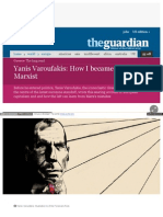 Www Theguardian Com News 2015 Feb 18 Yanis Varoufakis How i