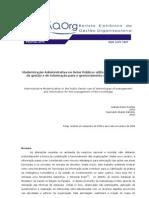 Modernização Administrativa no Setor Público