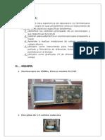 osciloscopio instrumento de medida