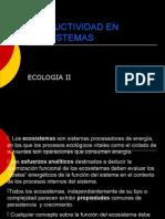 6a. Productividad en Ecosistemas a Exponer