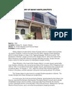 History of Bahay Nakpil