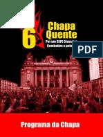 CHAPA QUENTE