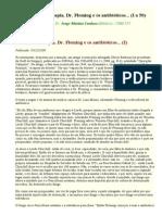Auto-hemoterapia, Dr. Fleming e Os Antibióticos - 1 a 50