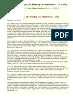 Auto-hemoterapia, Dr. Fleming e Os Antibióticos - Textos 51 a 100