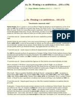 Auto-hemoterapia, Dr. Fleming e Os Antibióticos - Textos 101 e 102