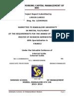 MBA Project milma