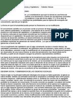 Resumen de Exordio Ciencia y Capitalismo - Sociología (Nievas - 2014)- CBC - UBA
