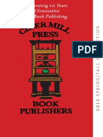 Cider Mill Press Book Publishers - 2015 Fall/Spring Catalog