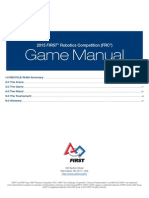 FRC Game Manual