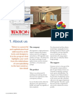 Architectural program TEKTON