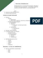 Curs 2 - Procesul Epidemiologic