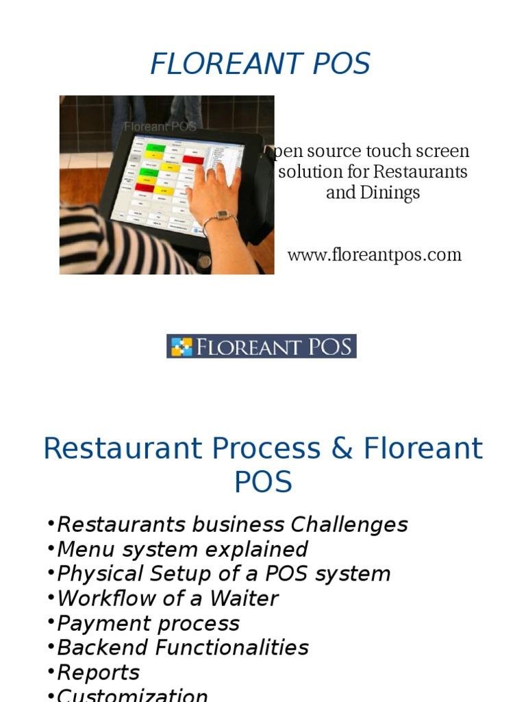 Flore Ant Pos | Point Of Sale | Restaurants