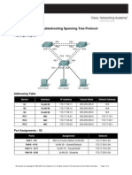 E3_5.5.3_PTAct Troubleshooting Spanning Tree Protocol