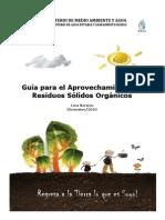 Guía para el Aprovechamiento de Residuos Sólidos Orgánicos