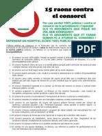 15 Raons Contra El Consorci_ambalegacions