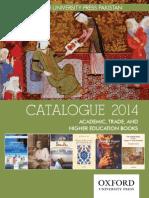 Oxford University Press Catalog