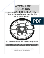 Educacion Sexual en Valores