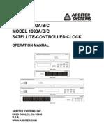 Arbiter Gps1092 93 Manual