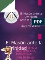 El Mason Ante La Divinidad