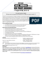 Ntse Test Series