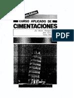 Curso aplicado de cimentaciones. Rodriguez Ortiz