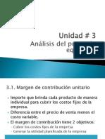 Unidad Nº3 Costos I-2015