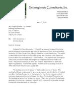 Letter to Doug Greene